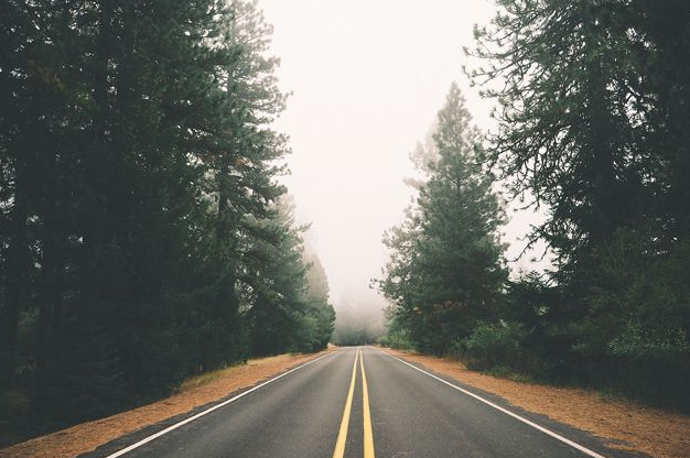long road image
