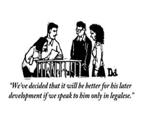 Une petite BD anglaise, que l'on peut retrouver sur ce site : http://cartoonbank.com/assets/1/125557_m.gif