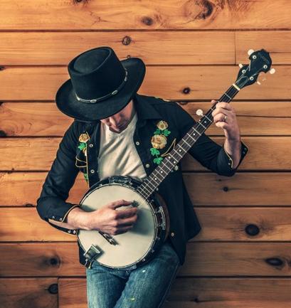 banjo player photo
